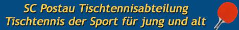 Tischtennis,Ausgleichsport fuer jung und alt